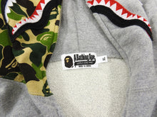 Load image into Gallery viewer, A Bathing Ape Shark Full Zip Hoodie Bearbrick Toy Collaboration - XL