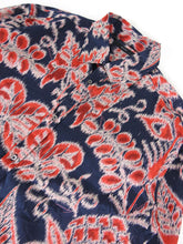Load image into Gallery viewer, Gucci Print Button Up Navy/Red Size 43