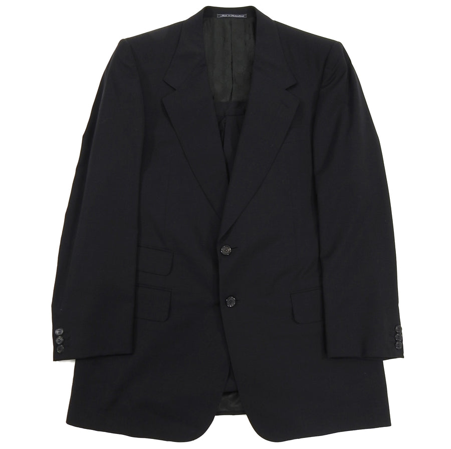 Gucci Tom Ford Era Black Wool Blend Two Piece Suit