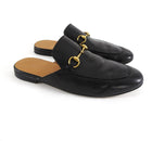 Gucci Horsebit Black Slip-On Loafers
