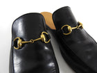 Gucci Horsebit Black Slip-On Loafers - 10