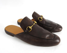 Load image into Gallery viewer, Gucci Horsebit Brown Slip-On Loafers