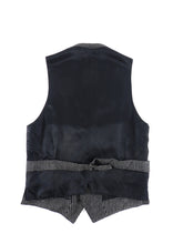 Load image into Gallery viewer, Gucci Black and White Wool Formal Vest - 36