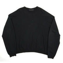 Load image into Gallery viewer, Haider Ackermann Crew Neck Sweater Black XXL