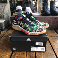 Load image into Gallery viewer, Adidas x Bape Dame 4 Green Camo - 10.5