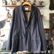 Load image into Gallery viewer, Brunello Cucinelli Navy Cotton Light Sports Jacket - XL