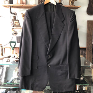 Gucci Tom Ford Era Black Wool Blend Two Piece Suit - 40