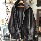 Porsche Design Black Limited Edition Leather Parka - L