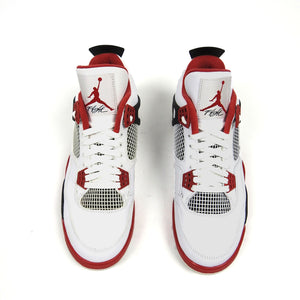 Jordan 4 2012 Retro White/Red Size 10