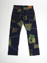 Load image into Gallery viewer, Junya Watanabe x Levi's Patchwork Jeans Medium