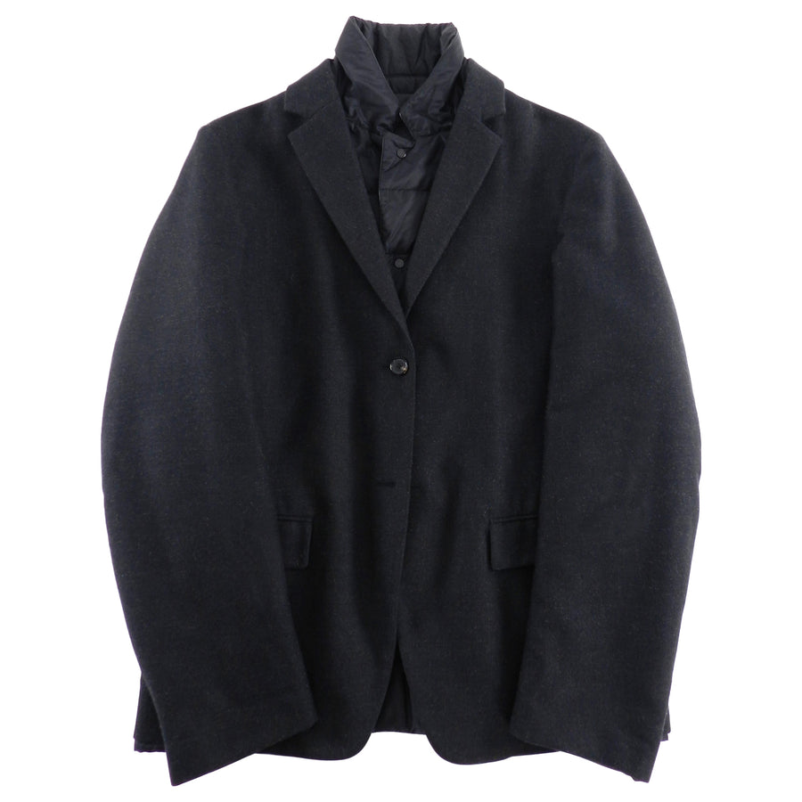 Jil Sander Reversible Puffer and Wool Blazer - 38