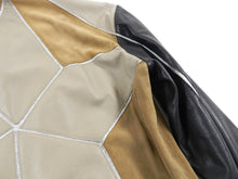 Load image into Gallery viewer, Just Cavalli Brown Multi Leather Bomber Jacket - M