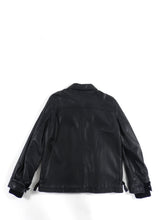 Load image into Gallery viewer, Lanvin Black Aviator Leather Jacket - L