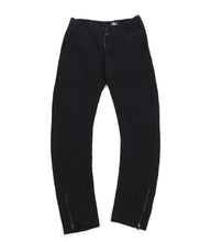 Load image into Gallery viewer, Lost and Found Ria Dunn Black Heavy Twill Cotton Trousers