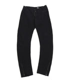Lost and Found Ria Dunn Black Heavy Twill Cotton Trousers