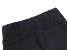 Load image into Gallery viewer, Lost and Found Ria Dunn Black Heavy Twill Cotton Trousers - L