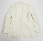Louis Vuitton White Cotton Summer Blazer - 46