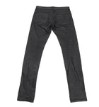 Alexander McQueen Waxed Denim Black Pants - 31