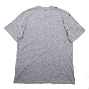 MSGM Hole Tee Grey Small