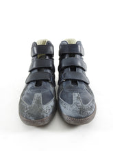 Load image into Gallery viewer, Maison Margiela Dark Grey High Top Vel cro Gat Sneakers - 42