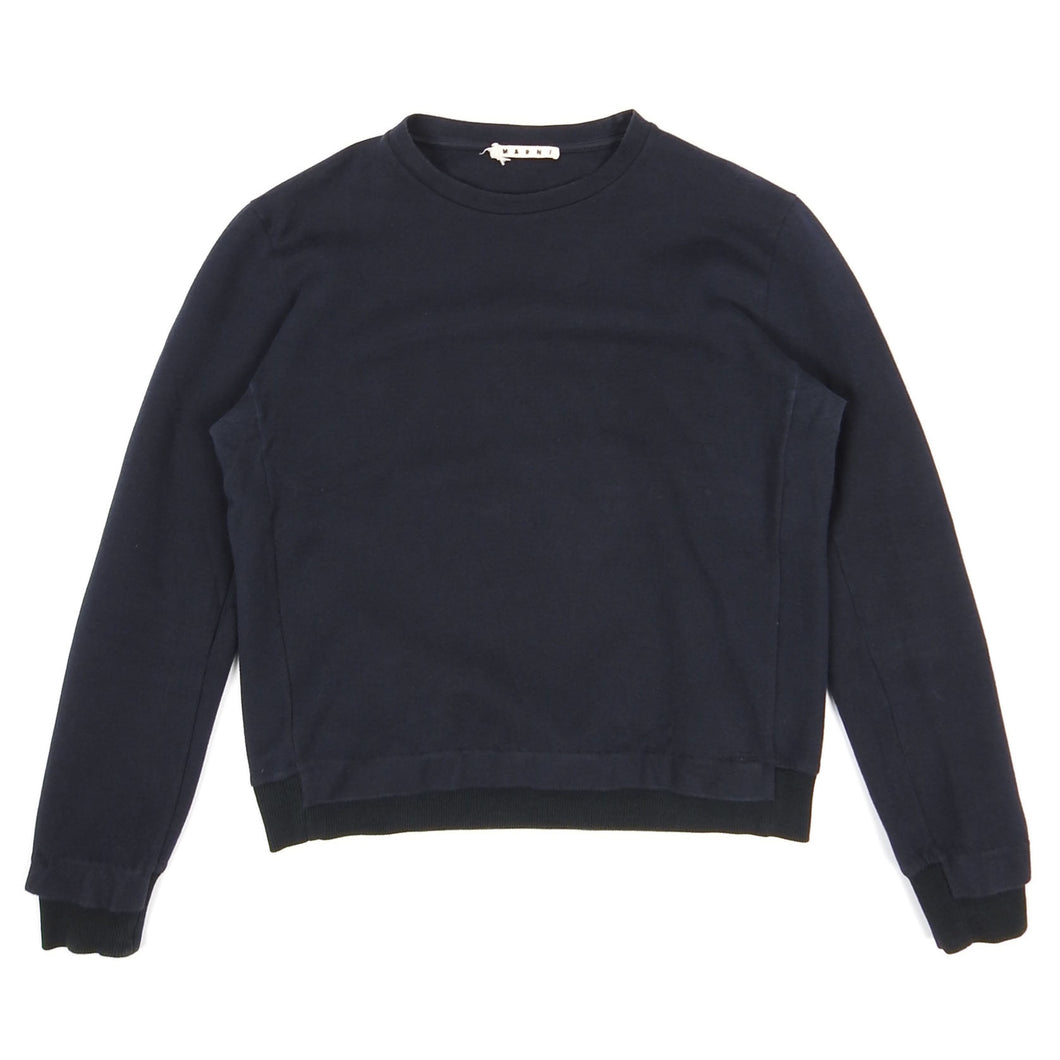 Marni Crewneck Sweater Navy 46