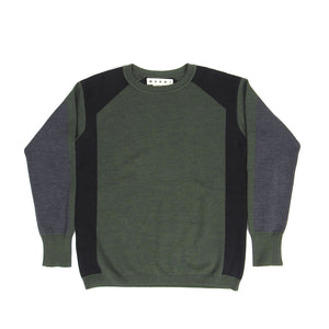 Marni Wool Sweater Green Size 48