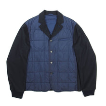 Load image into Gallery viewer, Marni Padded Wool Jacket Navy Size 48