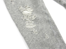 Load image into Gallery viewer, Miharayasuhiro Grey Cropped Distressed Joggers - M