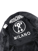 Load image into Gallery viewer, Moschino Couture Black Logo Interior Blazer - 38