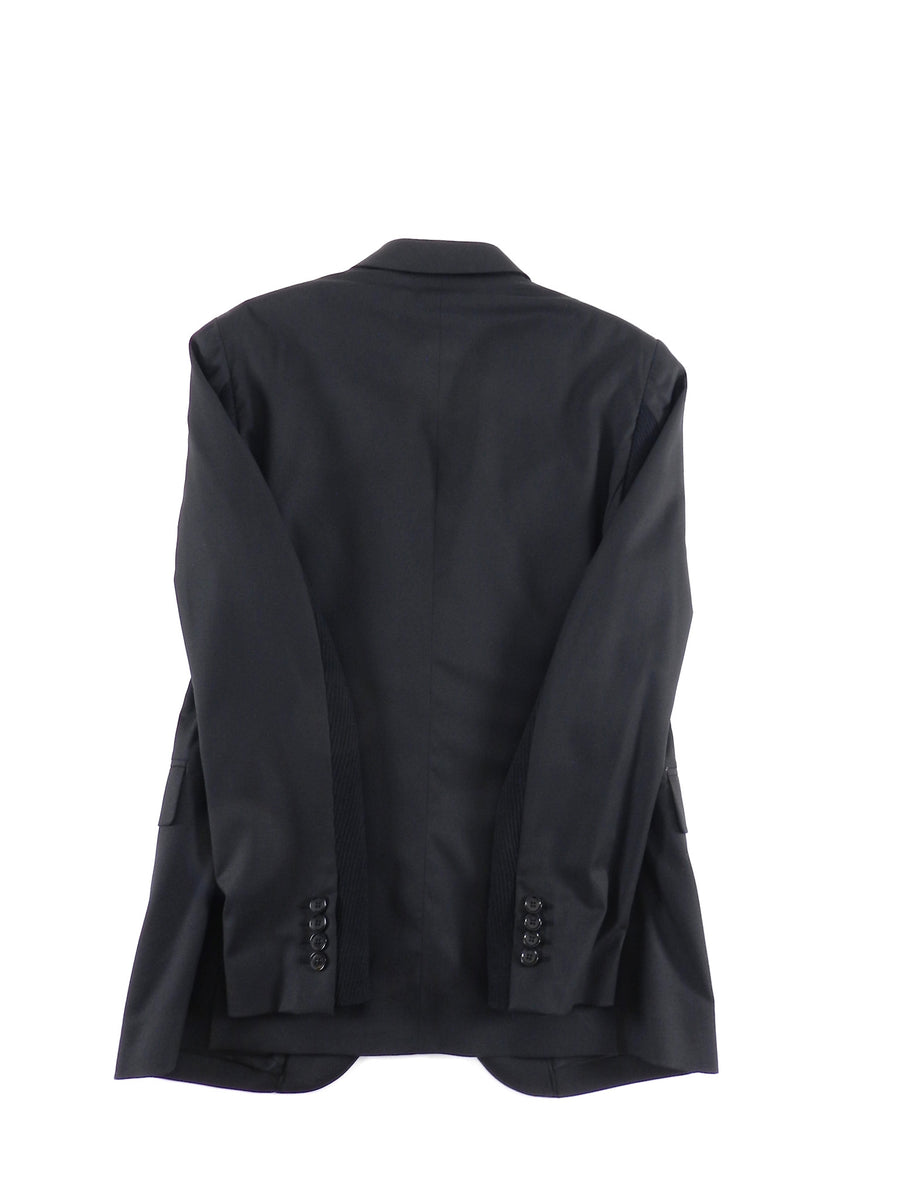 Moschino Couture Black Logo Interior Blazer - 38