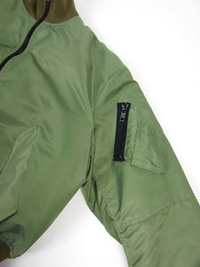 Mr Completely Bomber Green Large