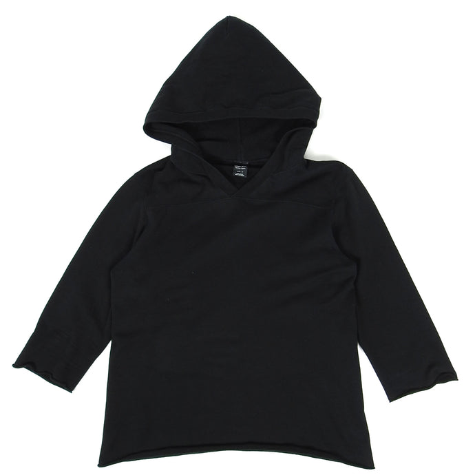 Number(N)ine 3/4 Sleeve Hood Black Size 3