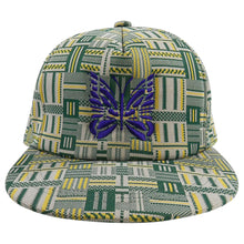 Load image into Gallery viewer, Needles Green and Yellow Snapback Cap Hat