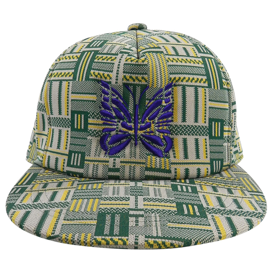 Needles Green and Yellow Snapback Cap Hat