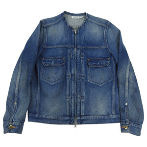 Nonnative Japanese Denim Zip Up Jacket