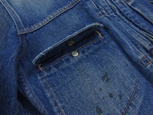 Nonnative Japanese Denim Zip Up Jacket - S