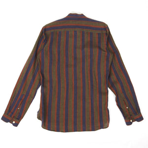 Oliver Spencer Striped Linen Shirt Size 15