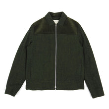 Load image into Gallery viewer, Oliver Spencer Corduroy/Wool Zip Up Jacket Green 38