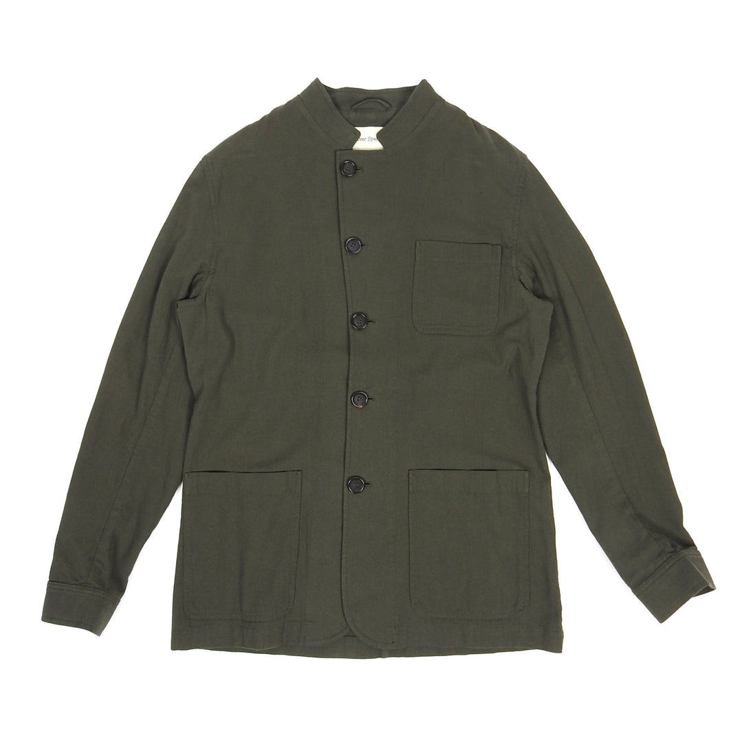 Oliver Spencer Work Jacket Olive Size 40