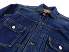 Orslow Indigo Pleated Denim Jacket - S