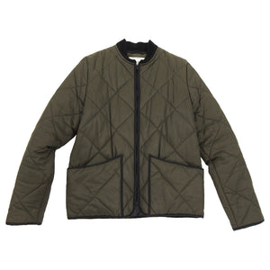 Patrik Ervell FW15 Army Green Quilted Field Jacket