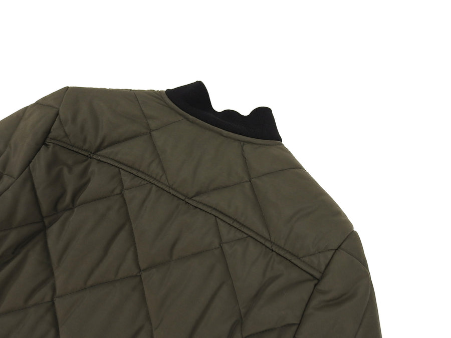 Patrik Ervell FW15 Army Green Quilted Field Jacket - S