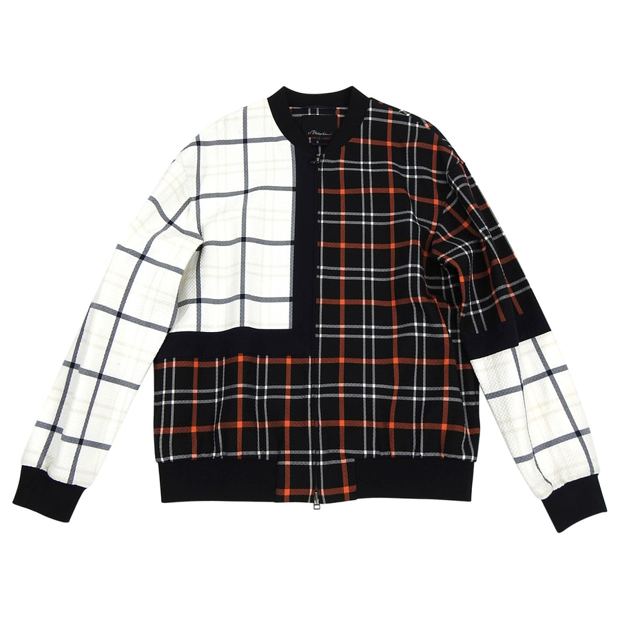 Phillip Lim 3.1 Double Plaid Bomber Jacket