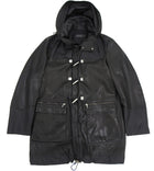 Porsche Design Black Limited Edition Leather Parka