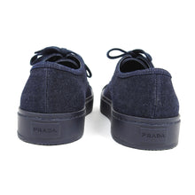 Load image into Gallery viewer, Prada Shell Toe Sneaker Navy UK 6.5