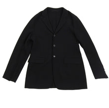 Load image into Gallery viewer, Prada Wool Black Unstructured Outerwear Blazer