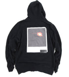Public School Black Graphic Zip Up Hoodie - M