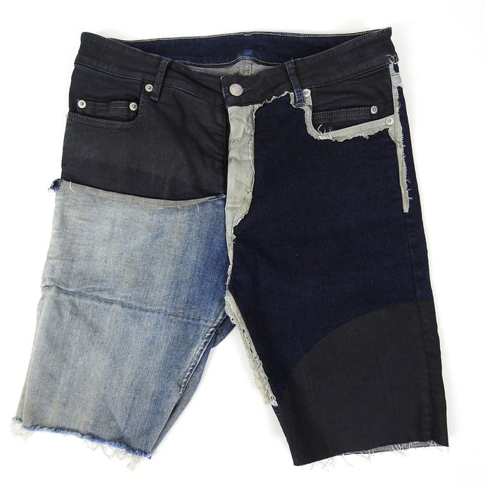 Rick Owens Babel SS/19 Denim Shorts Size 32