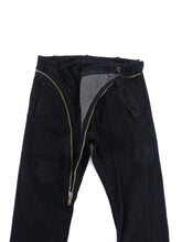 Load image into Gallery viewer, Rick Owens DRKSHDW Asymmetric Zip Black Trousers - XS