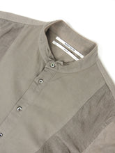 Load image into Gallery viewer, Robert Geller Short Sleeve Shirt Grey Size 48